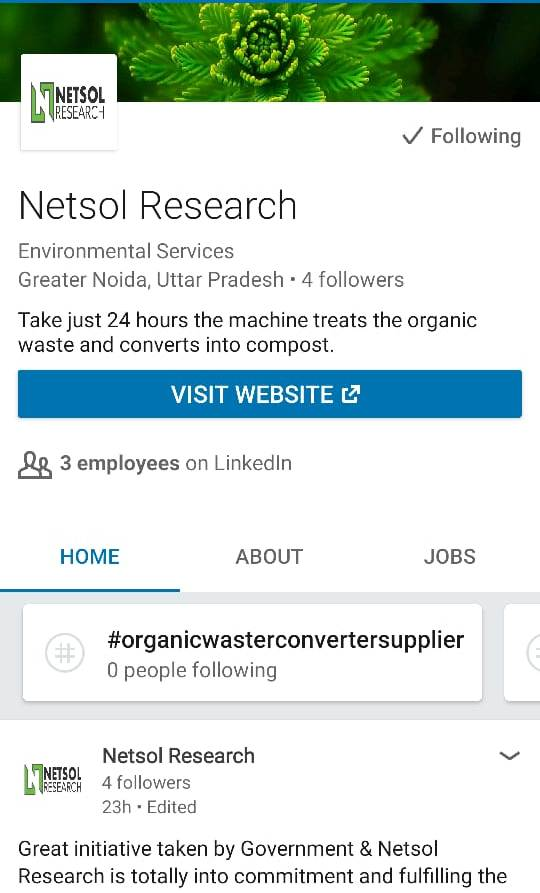 View Netsol Research's profile on LinkedIn